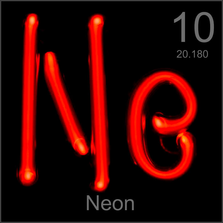 What Is Neon S Density At Room Temperature